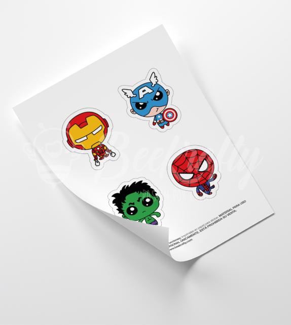 Avengers boys Stickers