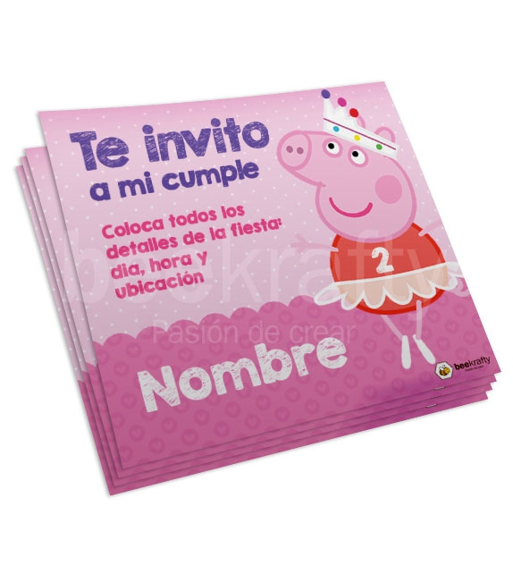 Peppa Pig Fairy Cards