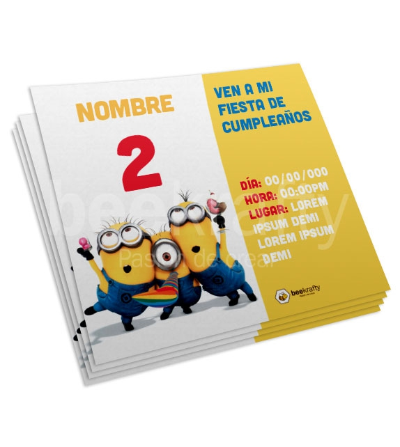 Minions Cards