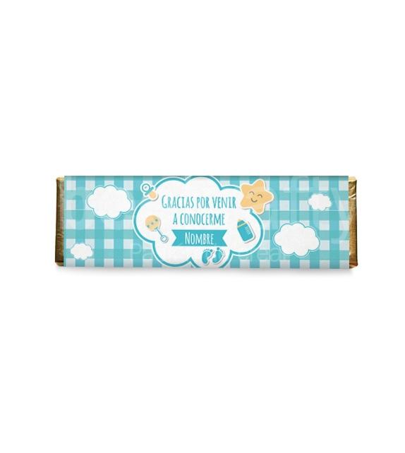 8 Chocolates medianos de nacimiento niño