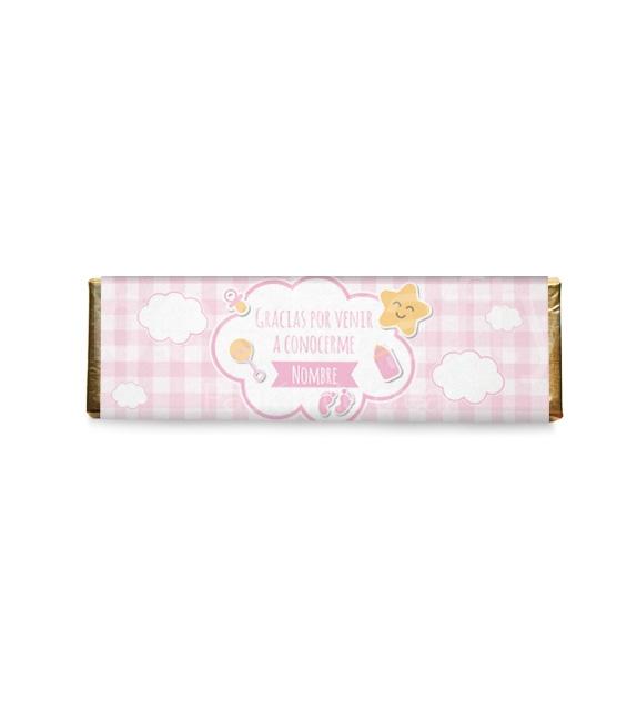 8 Chocolates medianos de nacimiento niña