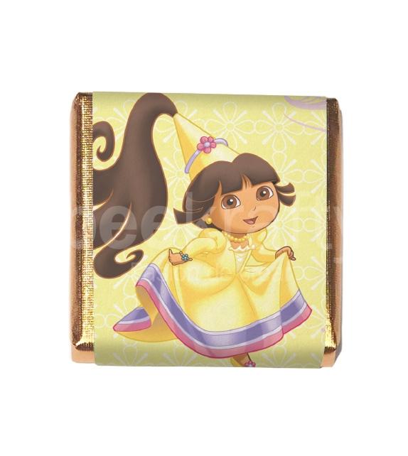 18 Little chocolates of Dora