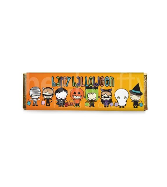 8 Chocolates medianos de Halloween