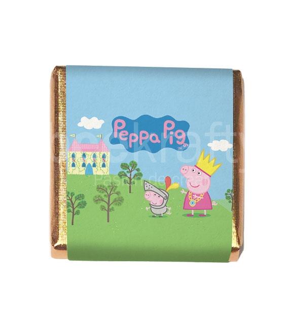 18 Little chocolates of Peppa Pig