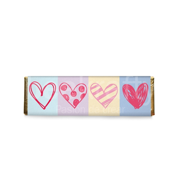 8 Chocolates medianos de amor