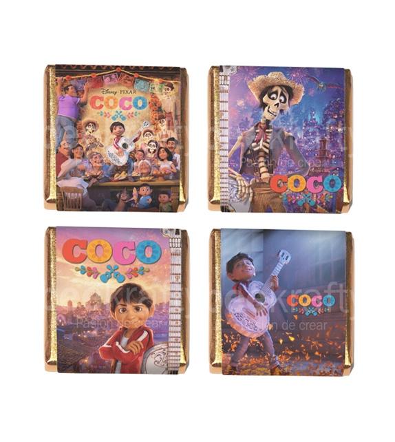 18 Minichocos de Coco