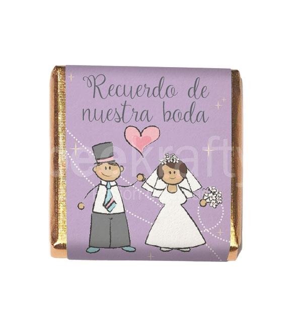 Minichocos para boda